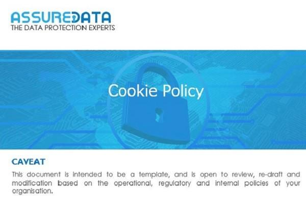 Cookie Policy Template