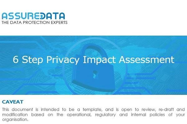Data Privacy Impact Assessment Template