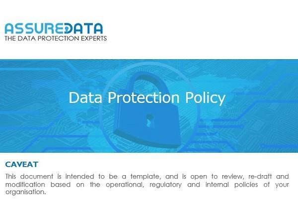 Data Protection Policy Template