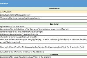 Systems Asset Questionnaire