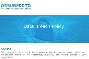 Data Breach Policy