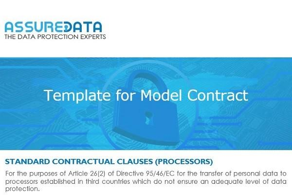 Model Contract Template | AssureData