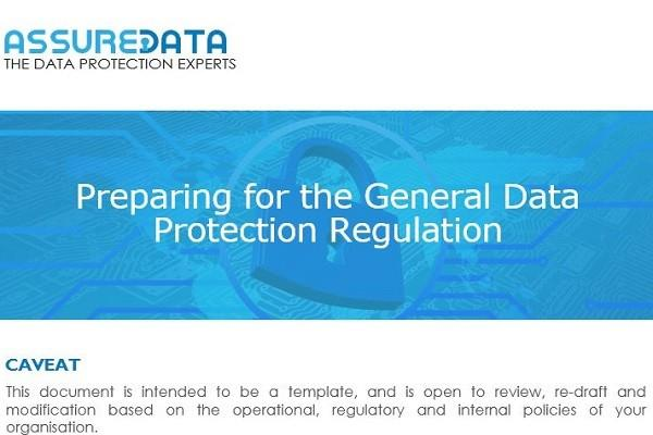 Preparing for the General Data Protection Regulation